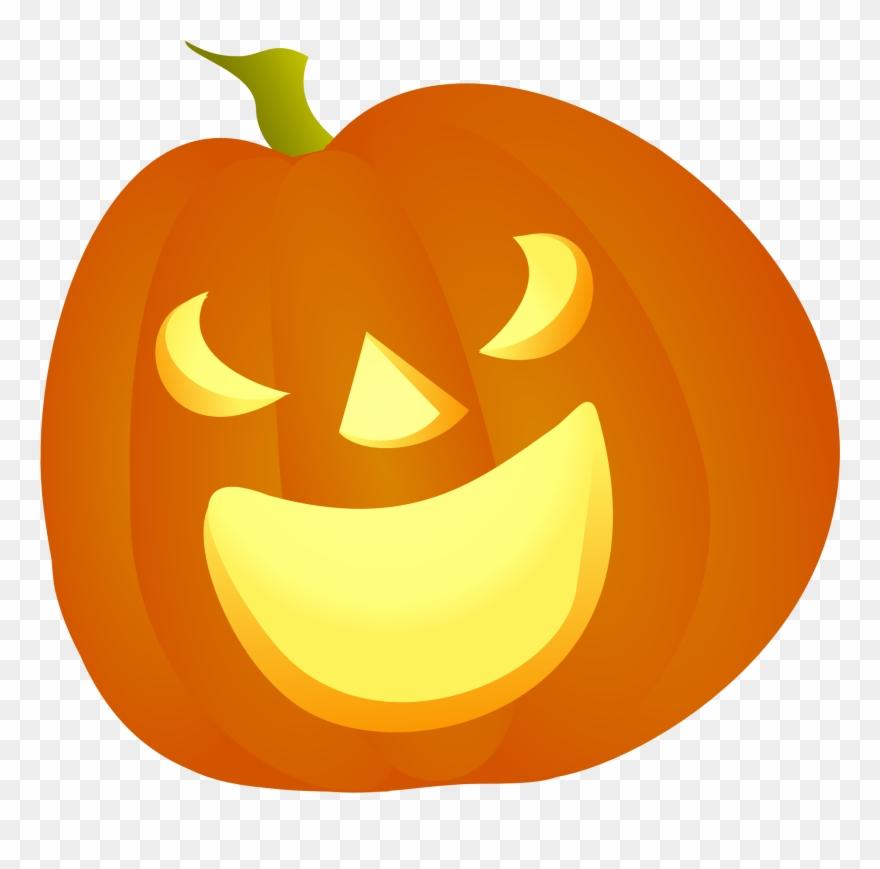 Clipart pumpkin vector. Happy halloween clip art