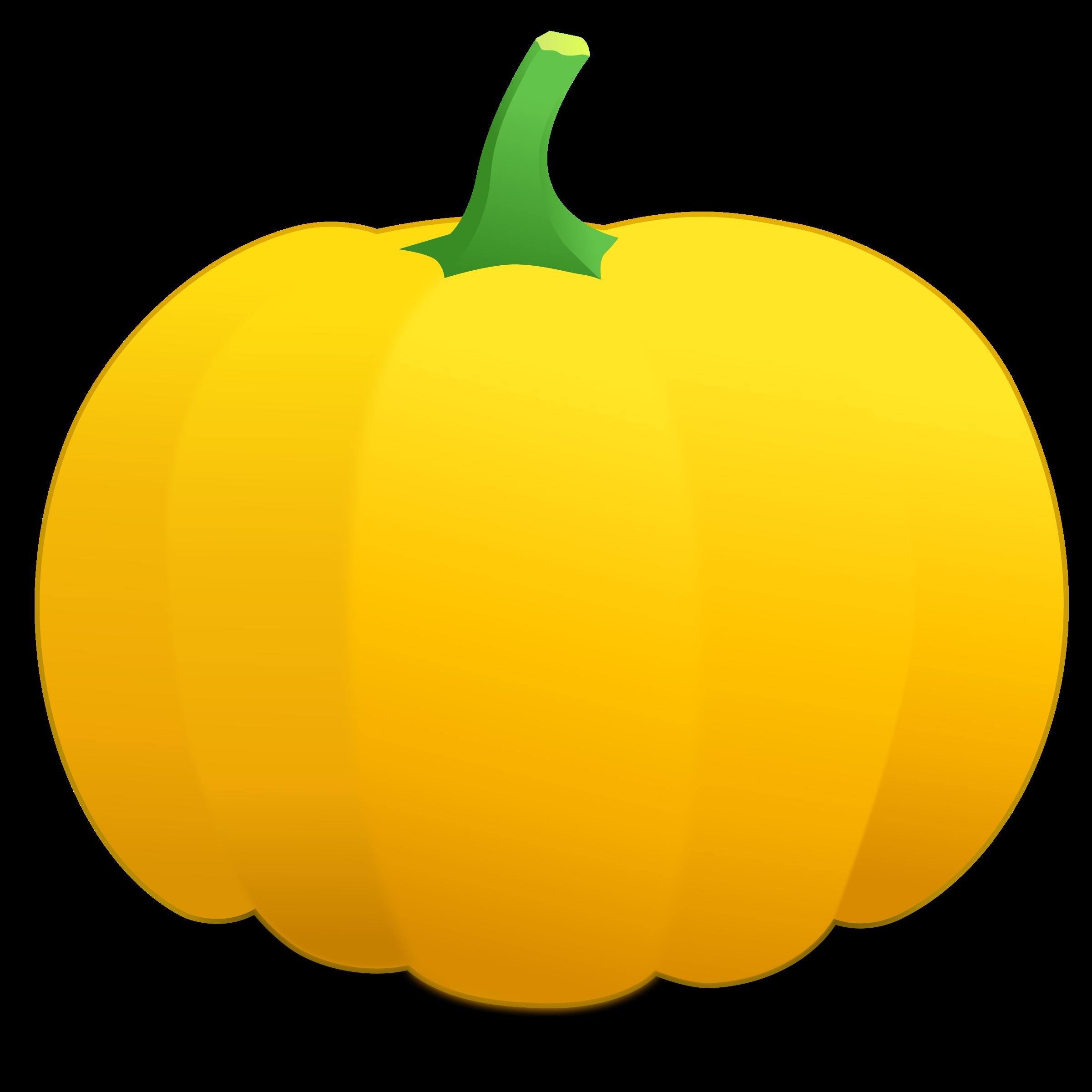 . Pumpkin clipart basic