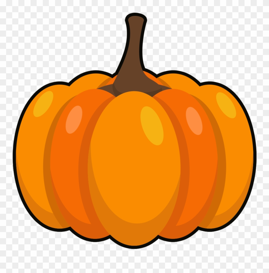 Pumpkin clipart vegetable. Vegetables fruits hand drawn