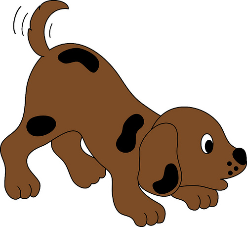 Free cartoon download clip. Clipart puppy animated