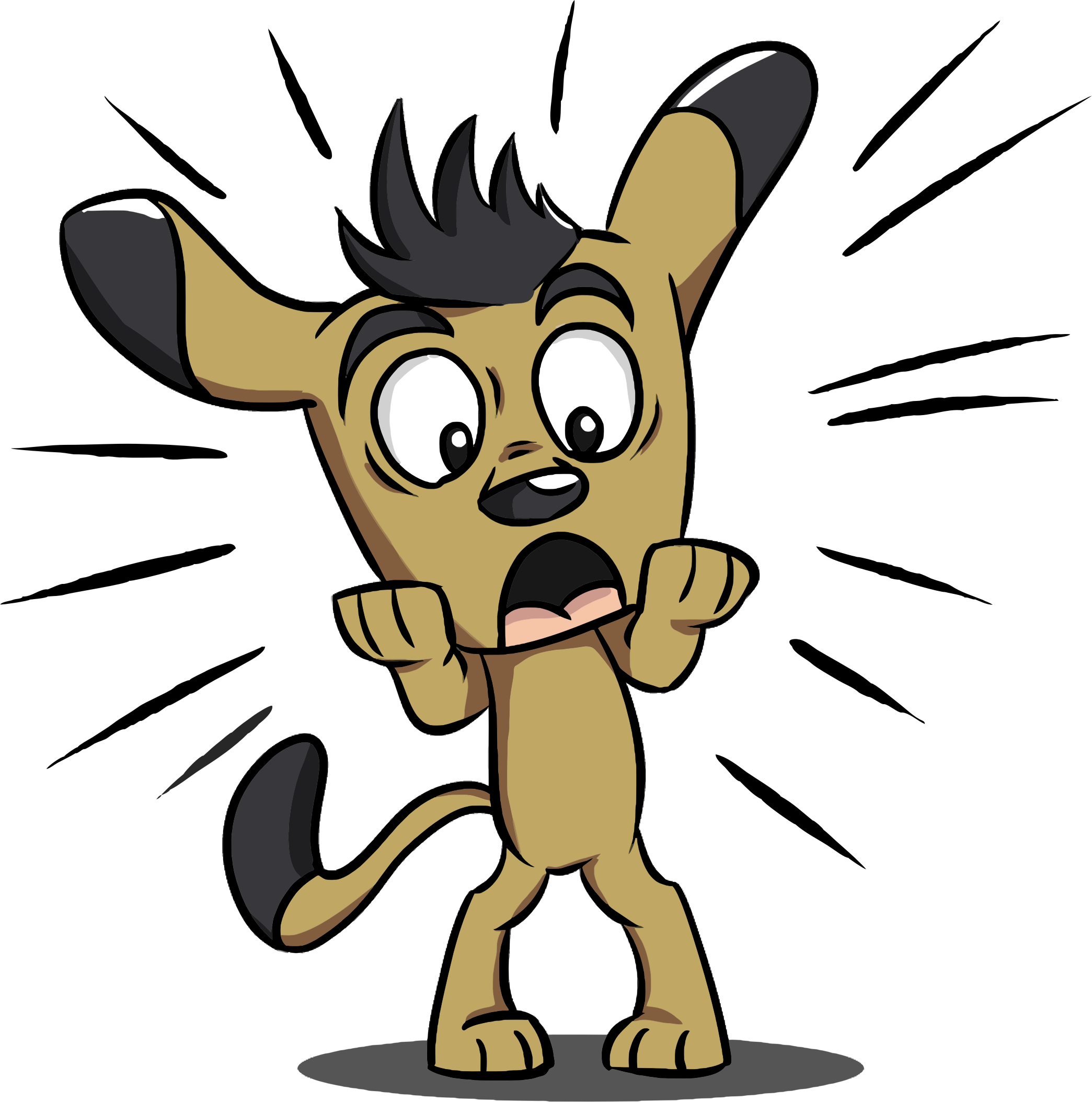 Puppy big image png. Emotions clipart surprised