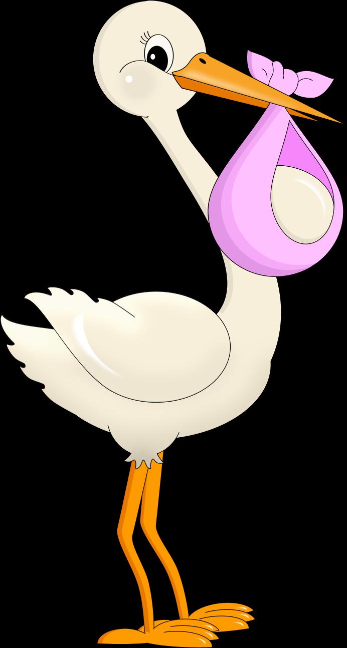 Gold clipart baby shower. Dibujos digi stamps stork