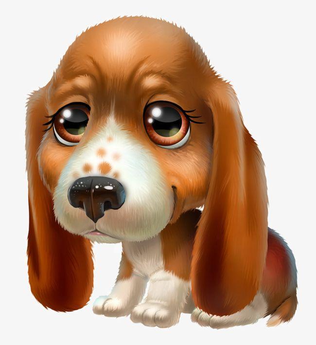 Clipart puppy big eye. Super meng animal png