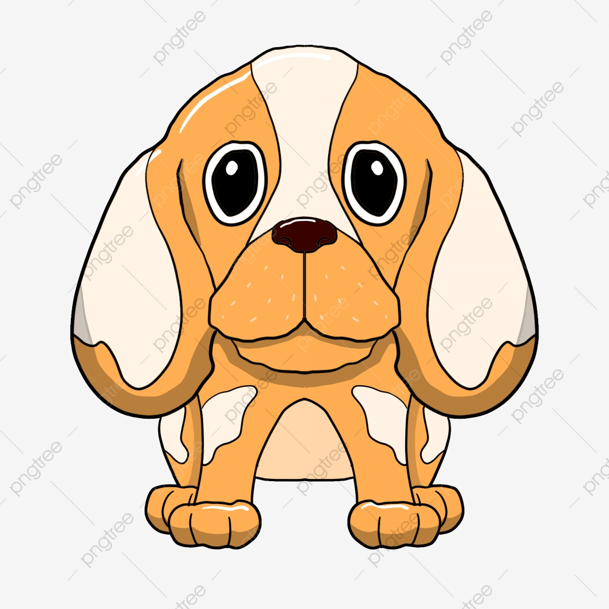 Clipart puppy big eye. Large ears dog eyes