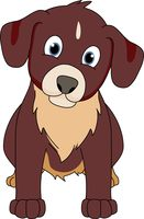 Clipart puppy brown puppy. Dog panda free images