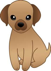 Pin by hms on. Clipart puppy brown puppy