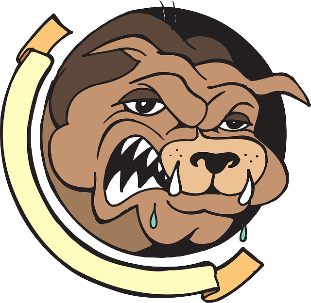 Images of bulldog spacehero. Pitbull clipart angry