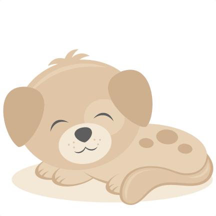 Pin on freebies . Clipart puppy cut