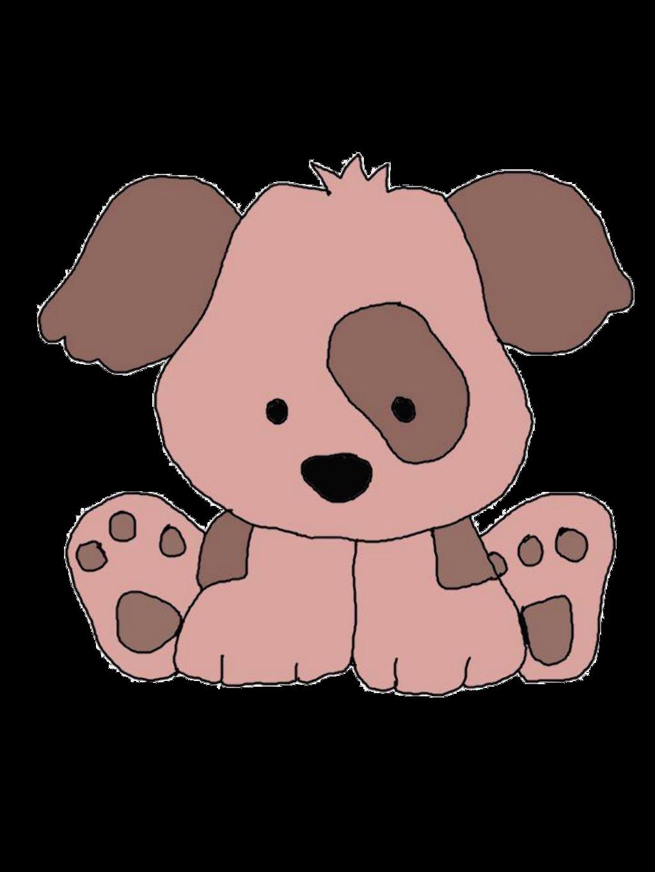 Clipart puppy cute. Ftestickers sticker by pennyann