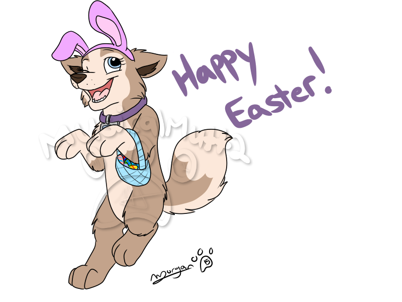 Clipart puppy easter. Image here comes the