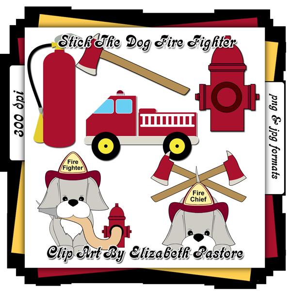 Clipart puppy firefighter. Clip art consist of