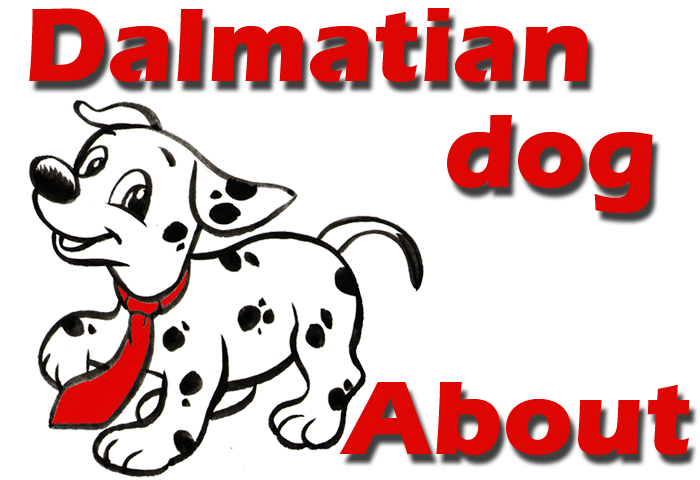 Dalmatian dog and puppies. Clipart puppy firefighter