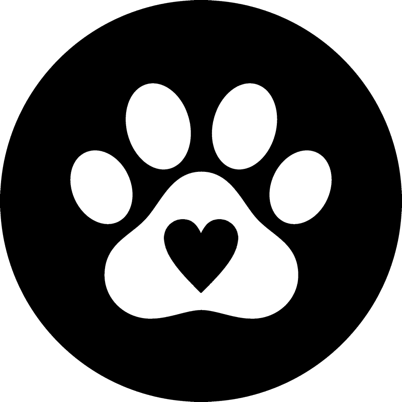 Pawprint clipart dog tracks. Paw print seal ordek