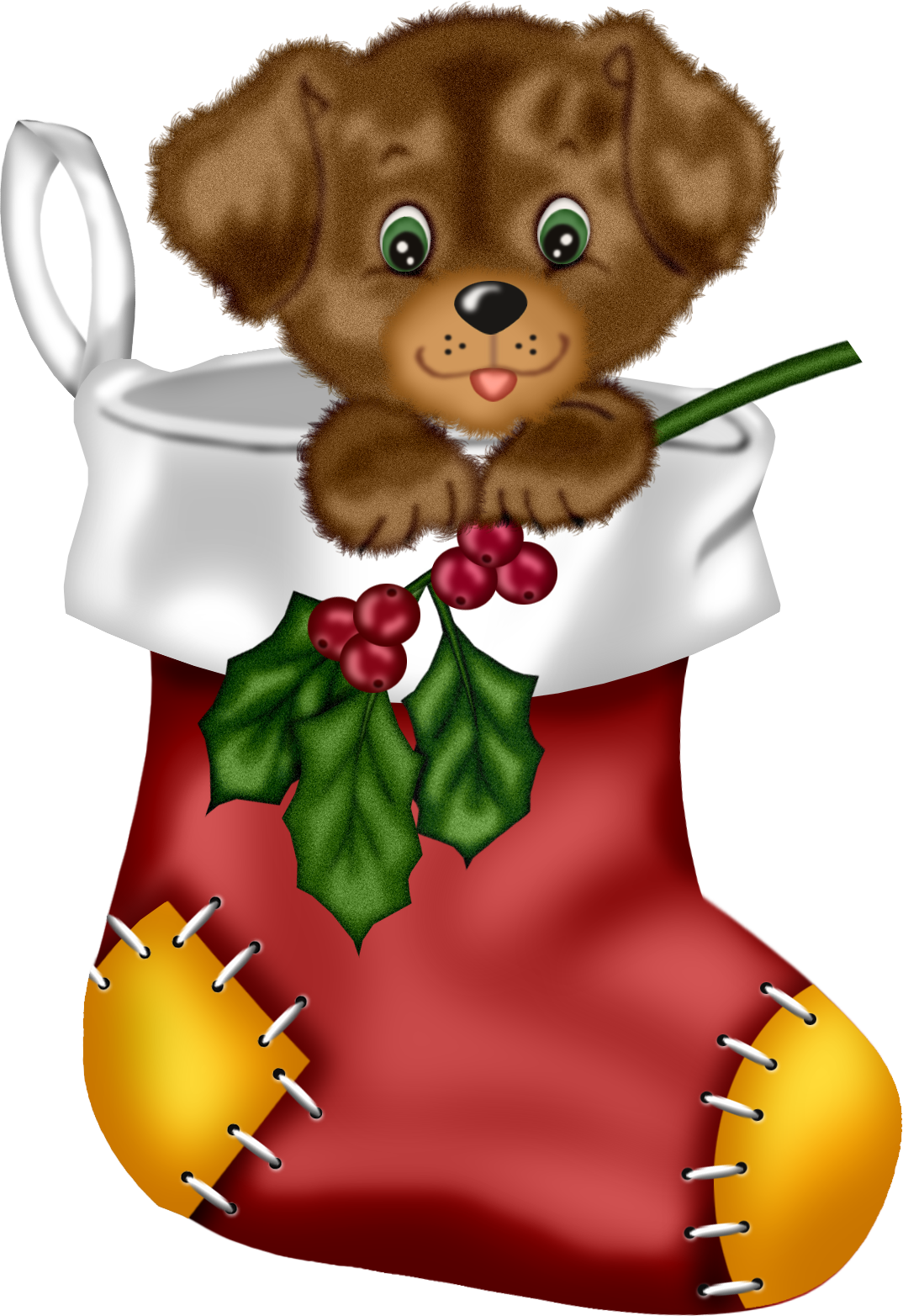 Christmas red stocking with. Clipart santa basketball