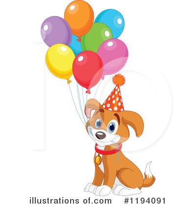 Illustration by pushkin . Clipart puppy free birthday
