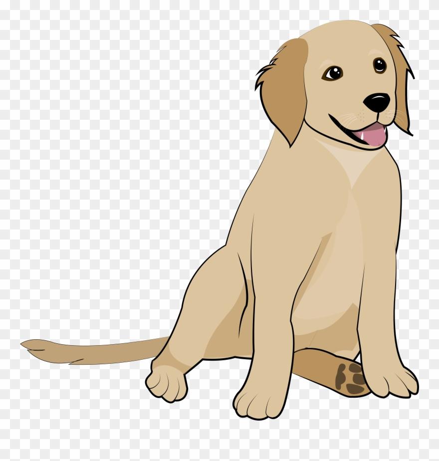 Clipart puppy golden retriever.  pinclipart
