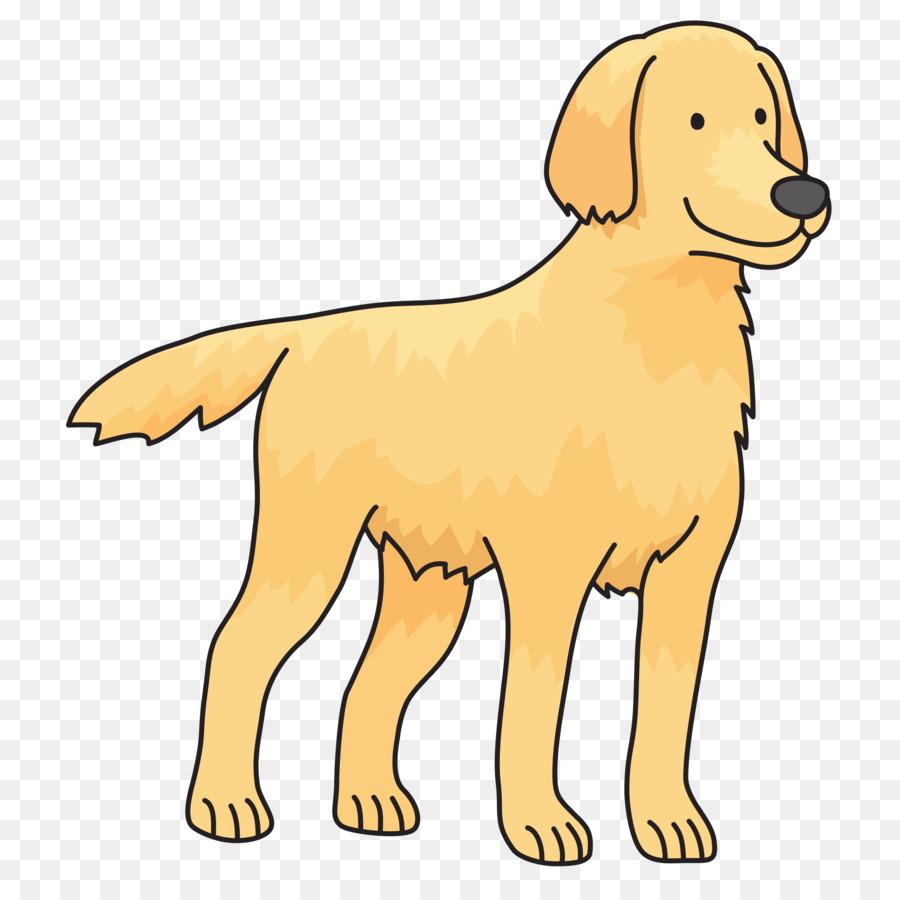 Background pet . Clipart puppy golden retriever