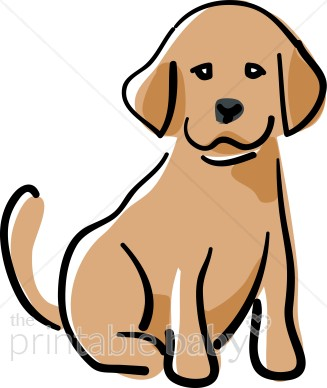 Happy puppy . Pet clipart found dog