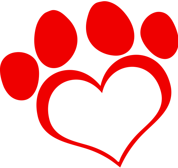 Clipart puppy heart. Dog training canine programssuper