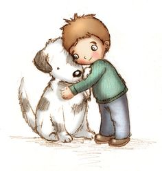 Free love cliparts download. Pet clipart hug dog