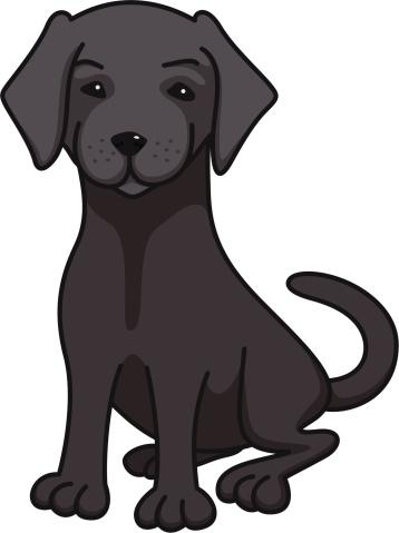 Free lab cliparts download. Clipart puppy labrador