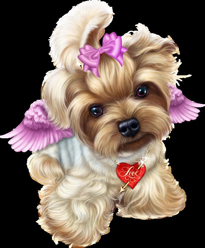 Angel valentine liveinternet . Clipart puppy maltipoo