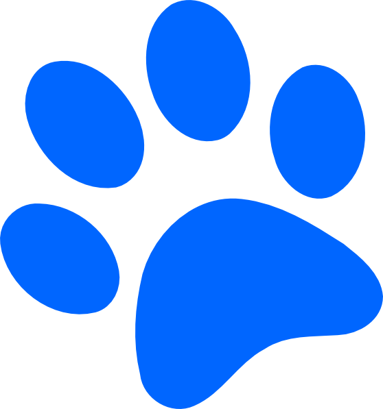 Husky clipart bulldog. Free paw print pictures