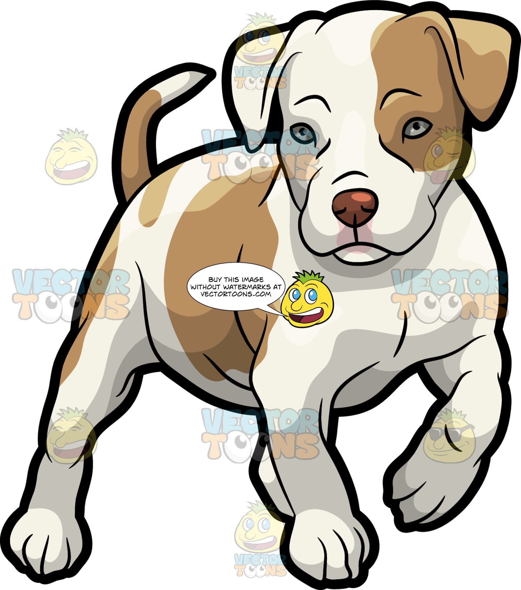 Clipart puppy pit bull. A