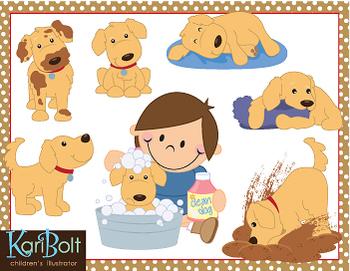 Clipart puppy playful puppy. Dog clip art klip