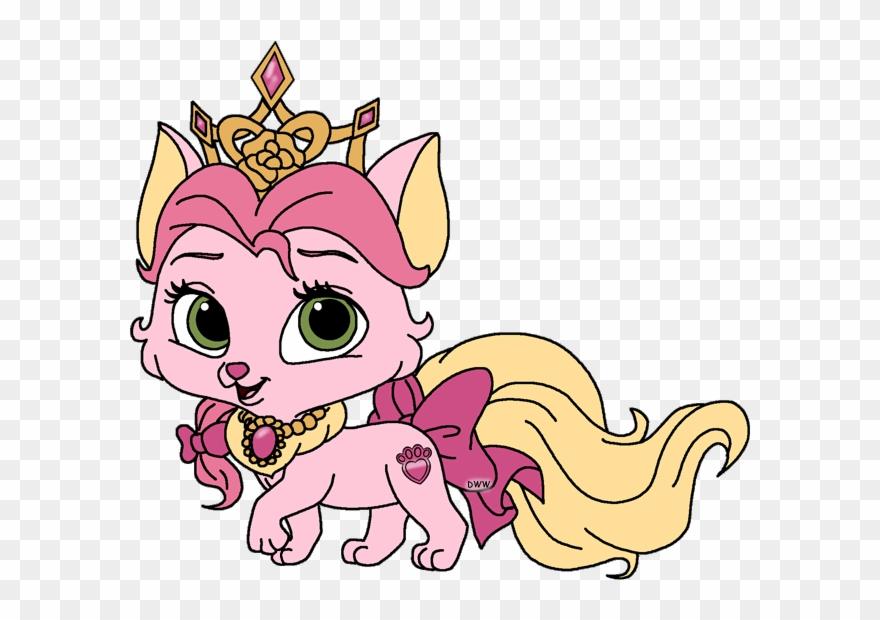 Clipart puppy princess. Palace pets amp clip