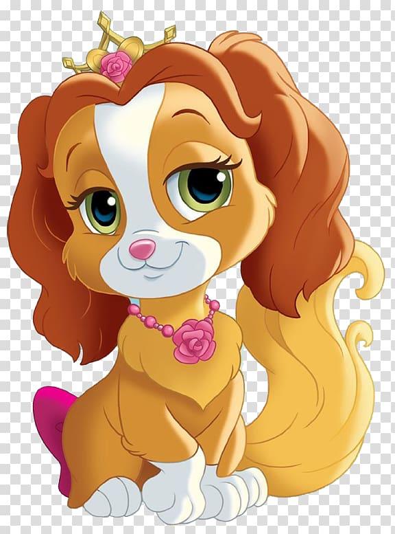Clipart puppy princess. Rapunzel belle cinderella aurora