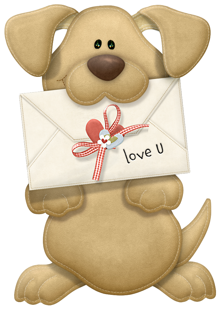 Valentine i you png. Clipart puppy puppy love