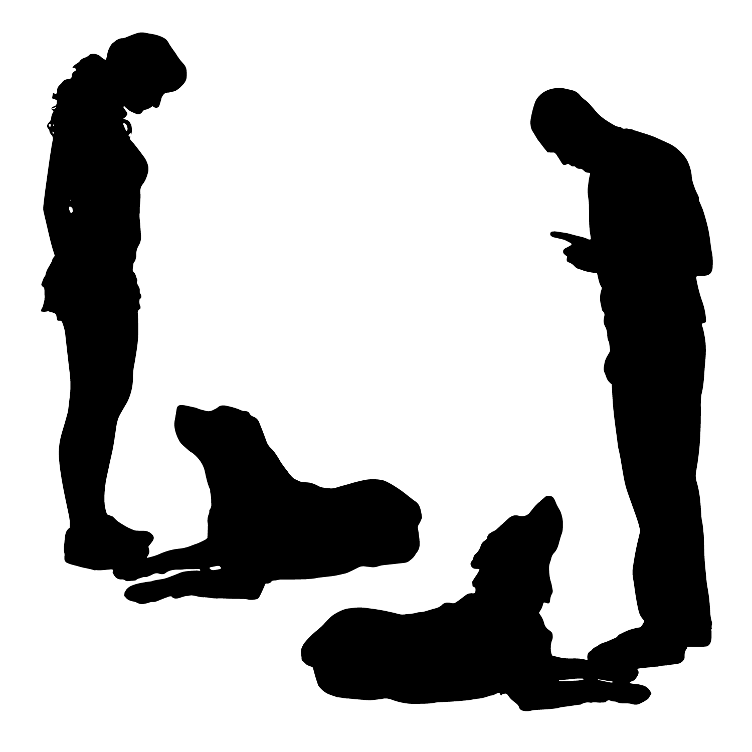Contact request a job. Clipart puppy shadow