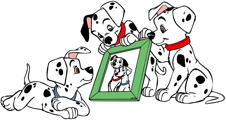 dalmatians puppies clip. Sad clipart dalmatian