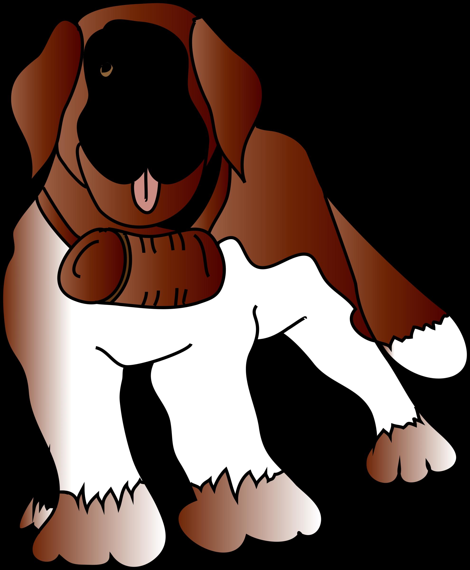 Clipart puppy st bernard. Saint s dog big