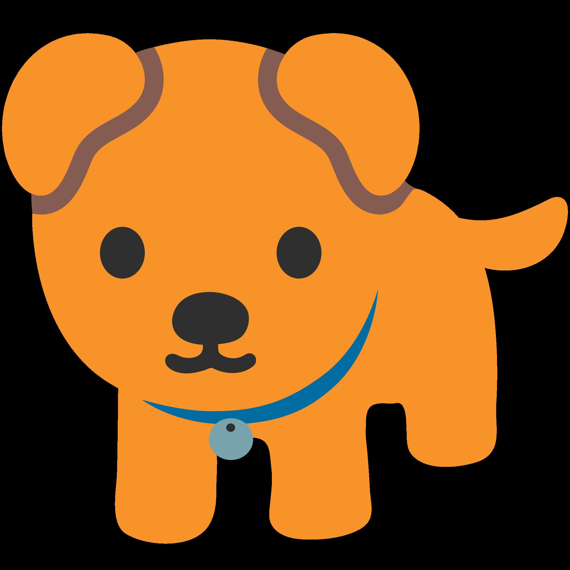 File emoji u f. Clipart puppy svg