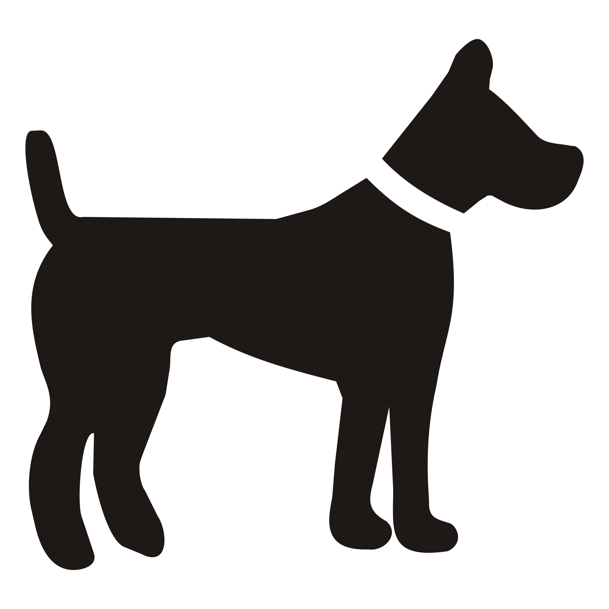 Clipart puppy svg. Dog silhouette at getdrawings