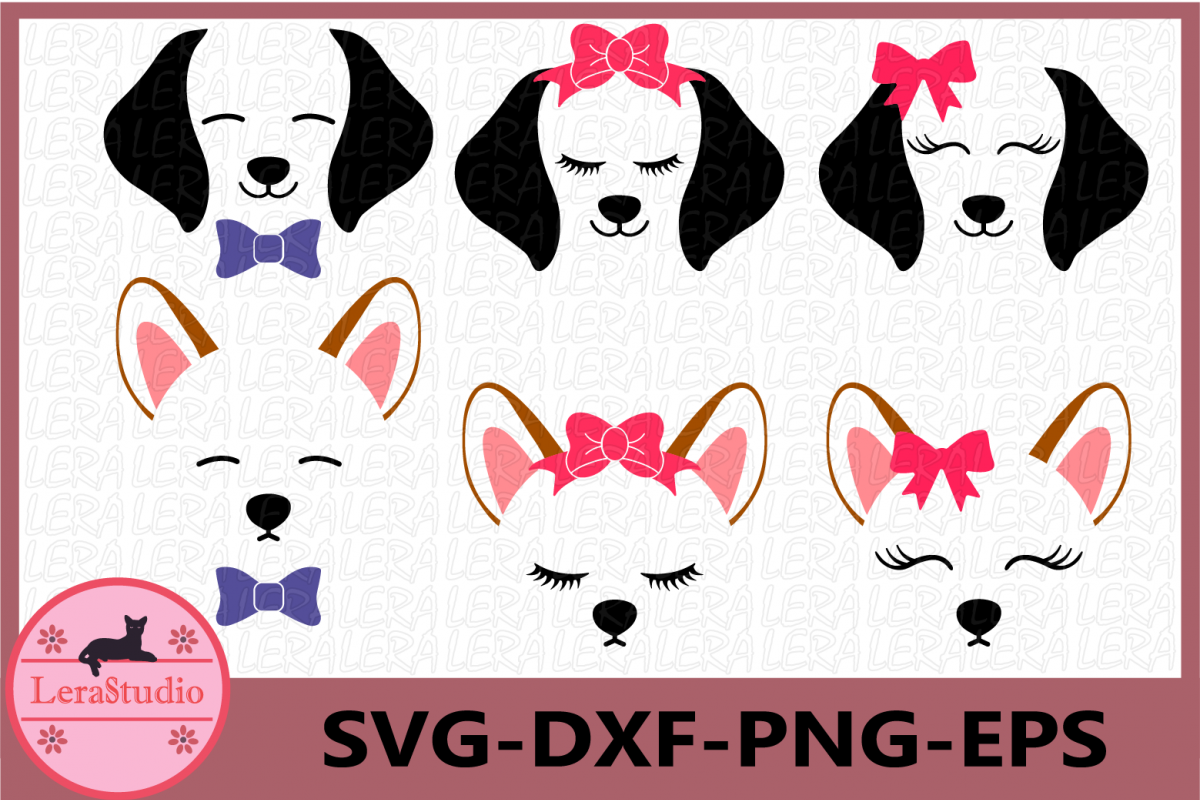 Dog face . Clipart puppy svg