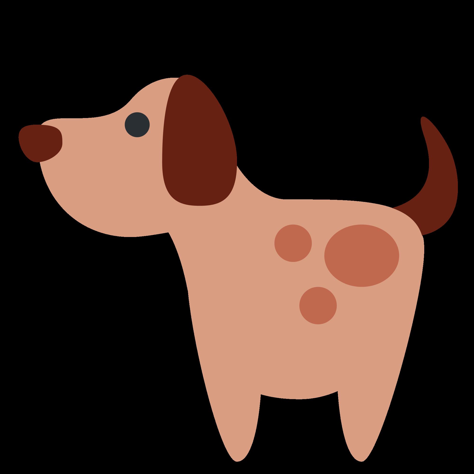 Clipart puppy svg. File twemoji f wikimedia