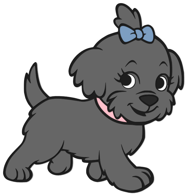 Clipart puppy svg. Beanie s tag you