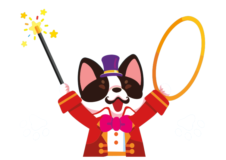 Be the ringmaster in. Clipart puppy three puppy