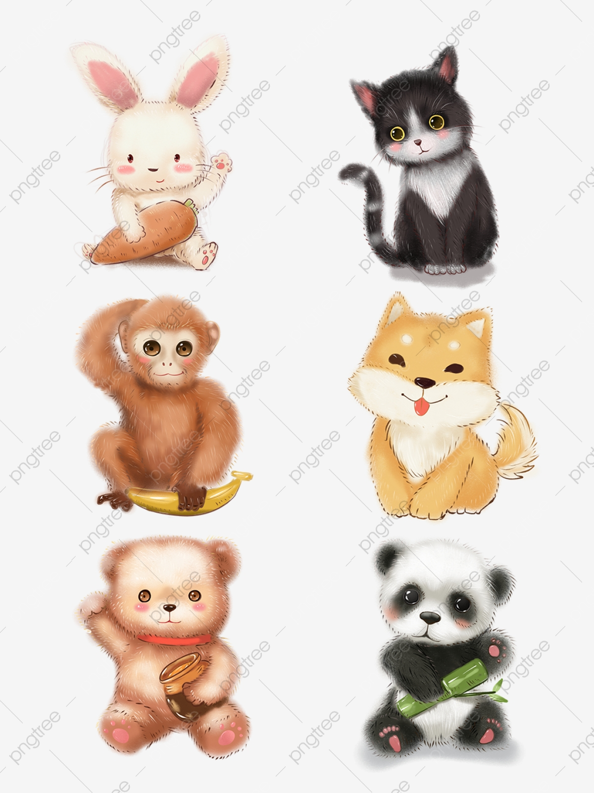 Cute picture material . Clipart puppy three puppy