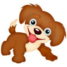 best dog cat. Clipart puppy tiny