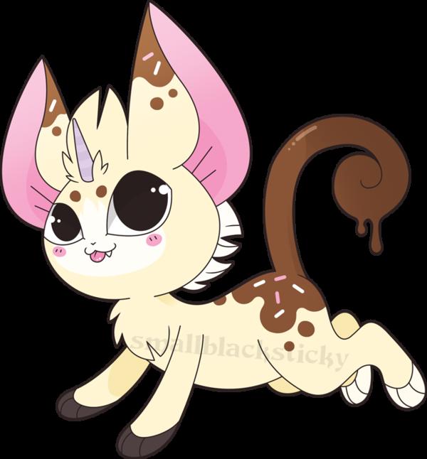 Kitten version by smallblacksticky. Clipart puppy unicorn