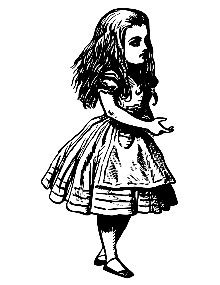 Onlinelabels clip art. See clipart alice in wonderland