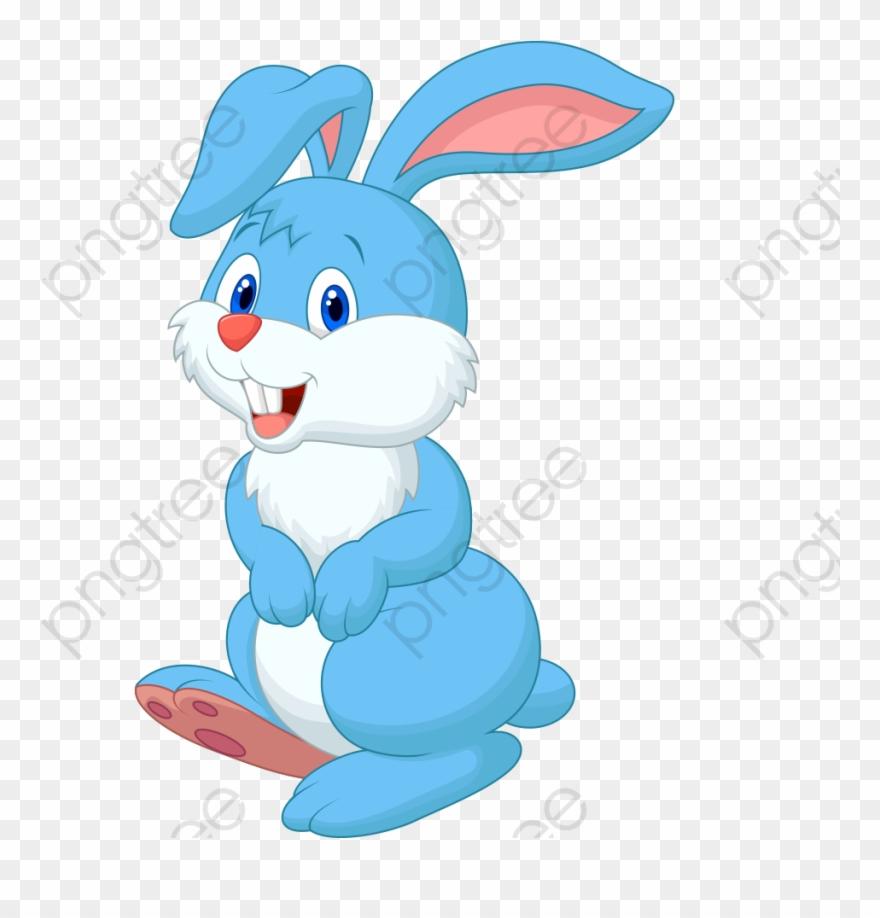 Bunny clip art png. Clipart rabbit blue