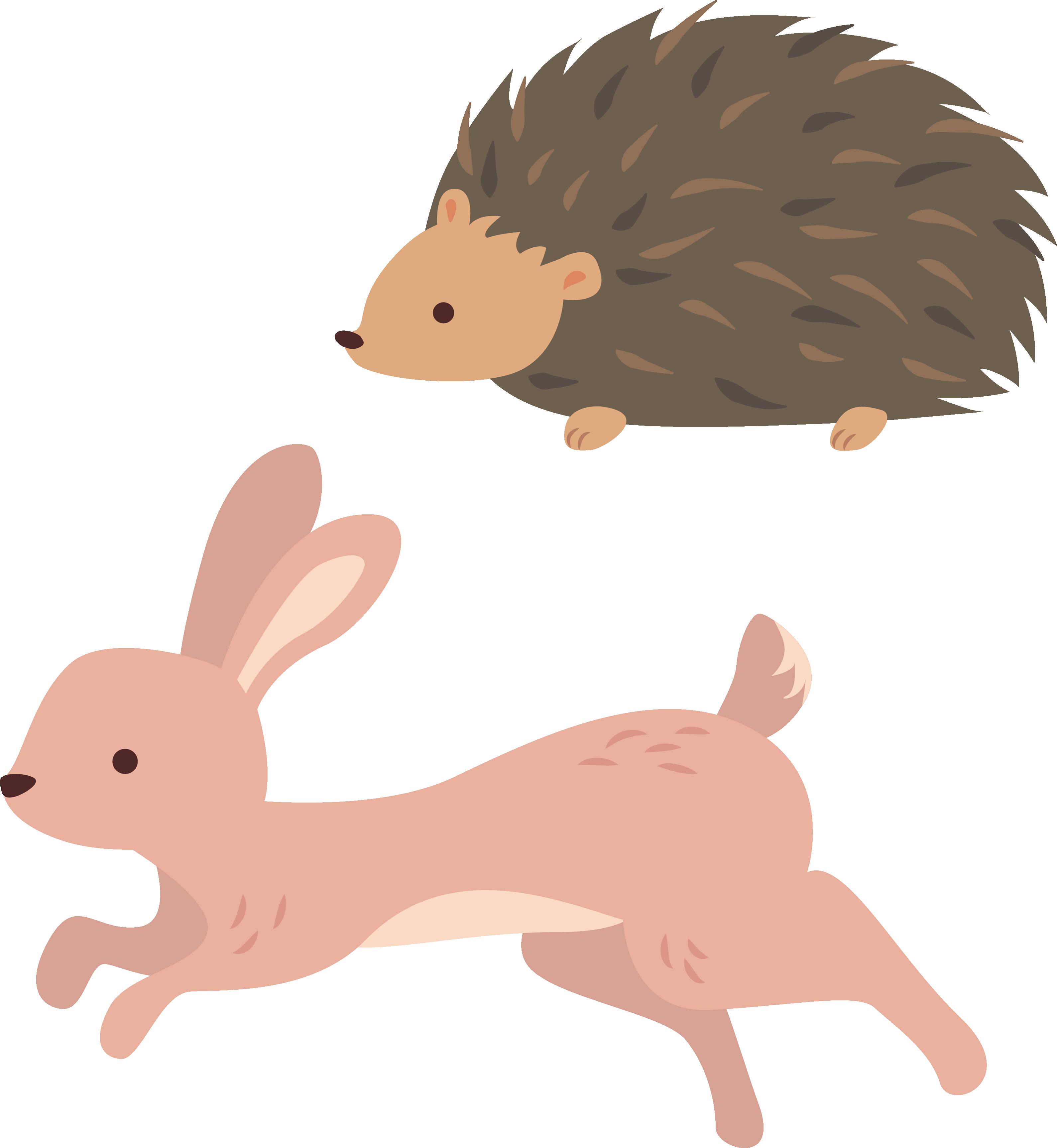 Domestic rabbit clip art. Hedgehog clipart hedgehod