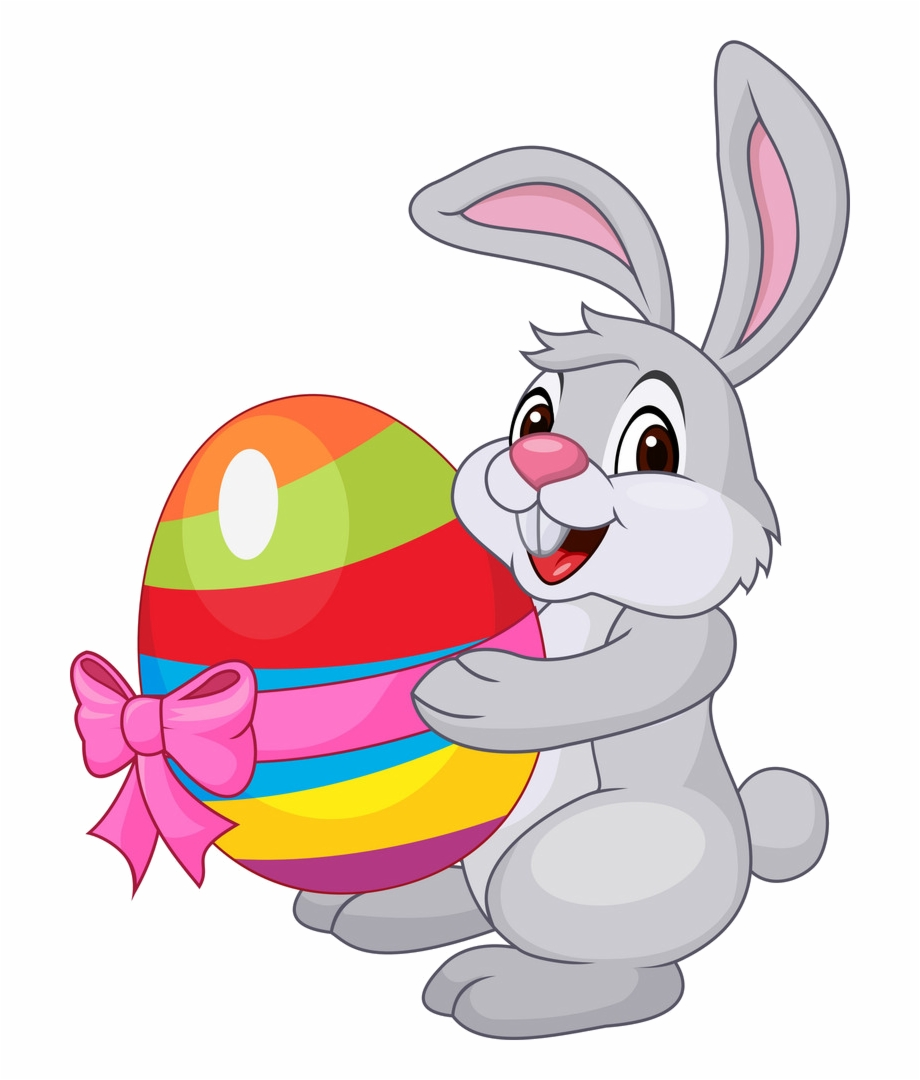 Clipart rabbit easter bunny. Mail with eggs