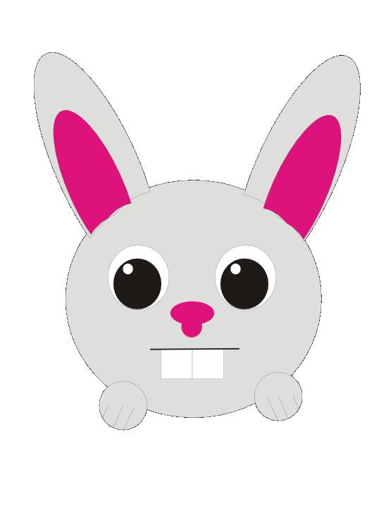 Clipartist net clip art. Clipart rabbit nose