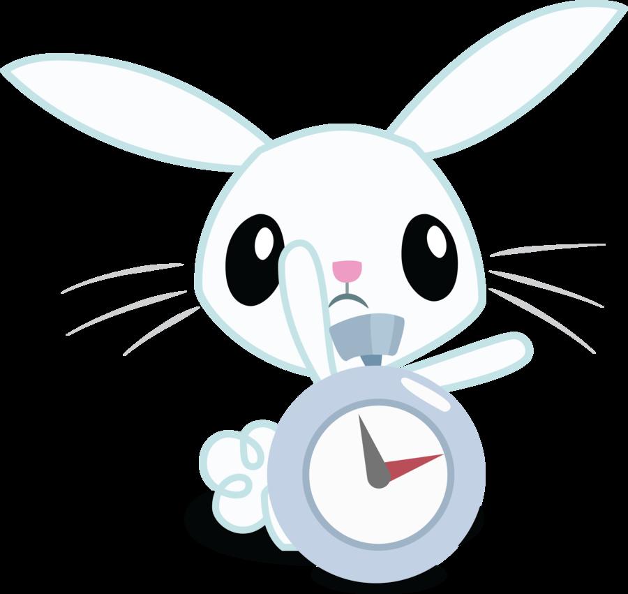 Bunny watch by felix. Clipart rabbit nose